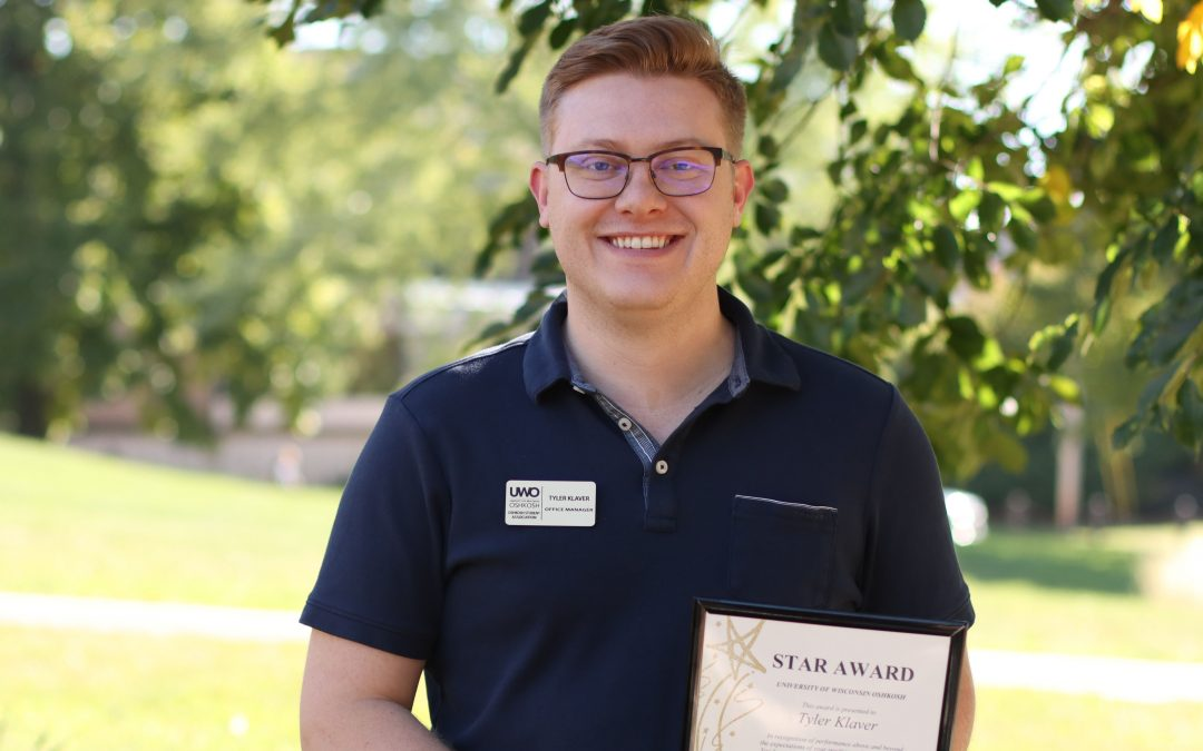 OSA office manager earns UWO October STAR Award