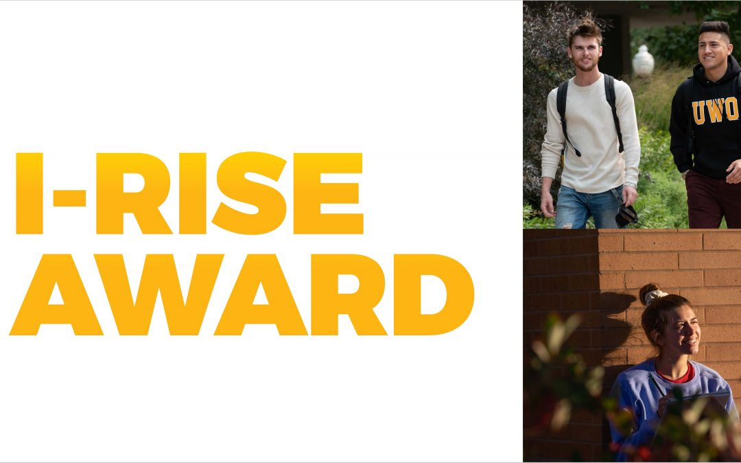 Three students earn inaugural I-RISE Awards for resilience, inspiration, strength and excellence