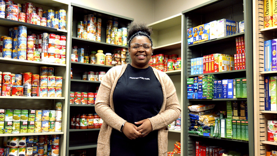 UWO students respond to food insecurity on campus with new food pantry