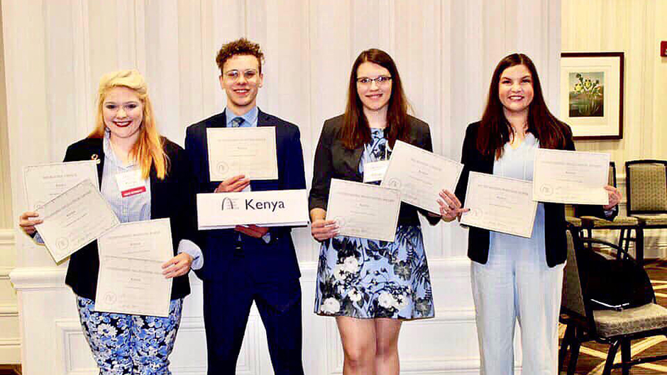 With 34 awards, tradition of excellence continues for Model UN Titans