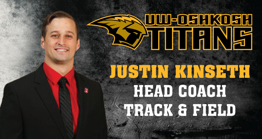 Kinseth to lead track & field programs