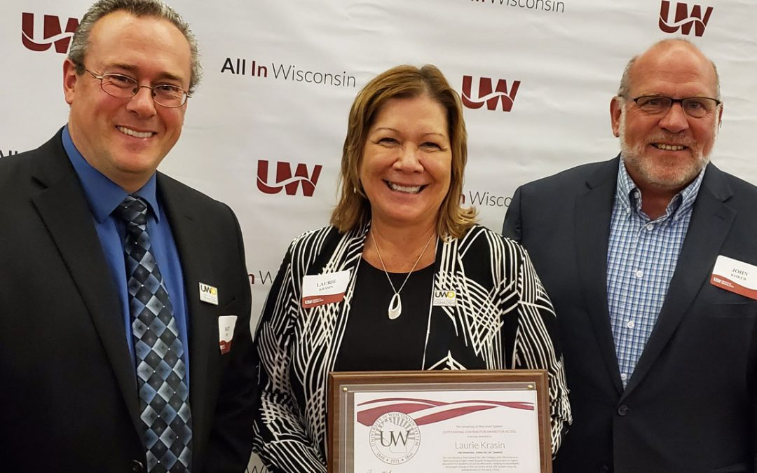 UWO staff recognized for restructure work