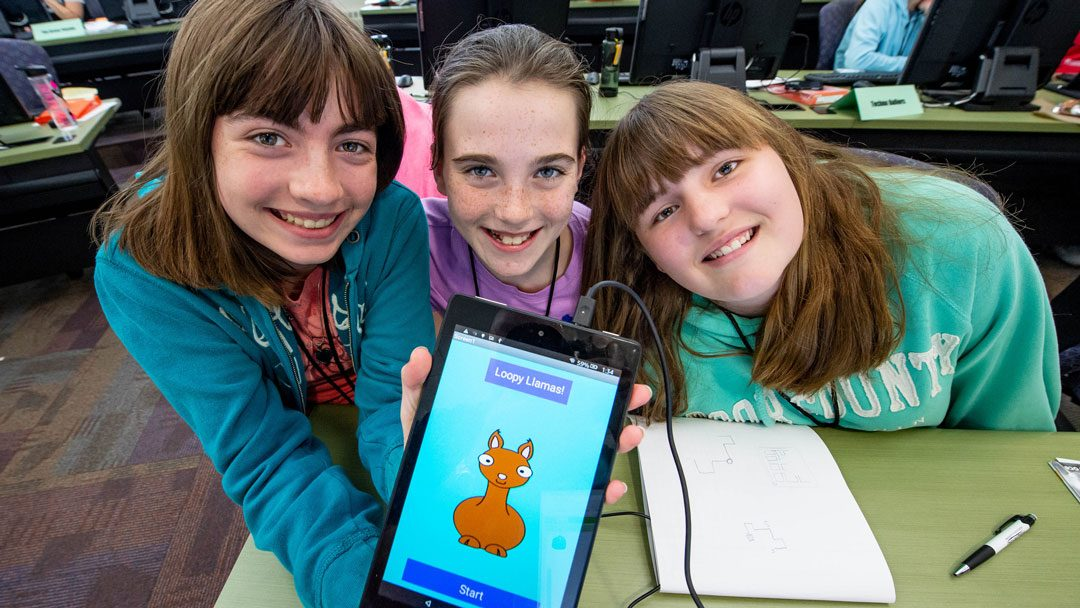 #TitanSummer: Academy brings girls together to build teamwork, confidence and apps