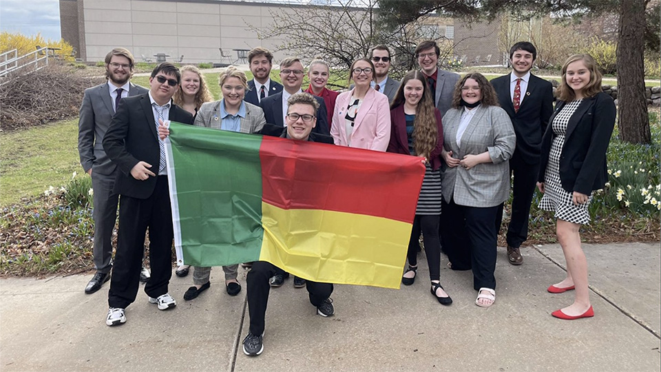UW Oshkosh Model UN team takes top award at virtual national competition