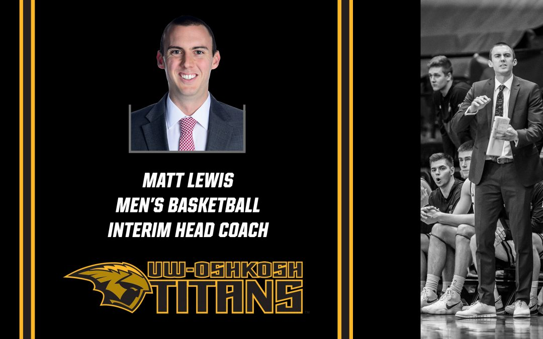 Matt Lewis named interim head men's basketball coach
