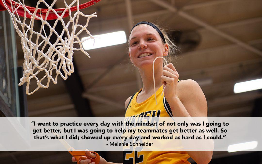 Melanie Schneider: Patience and hard work pays off