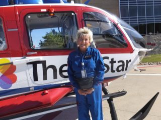 Pam Witt Hillen Helicopter