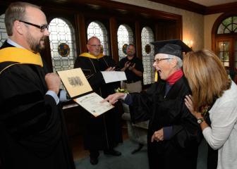 Pat Goetz earned a bachelor's degree from UW Oshkosh in 2015.
