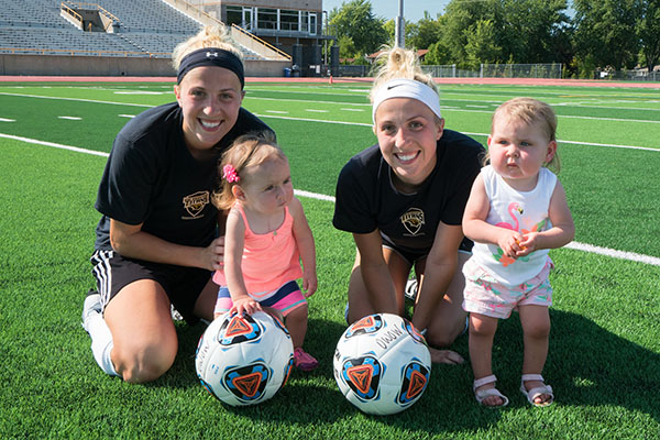 UW Oshkosh Women's Soccer team playing for cause close to hearts