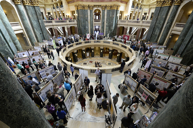 Five students to present at Posters in the Rotunda