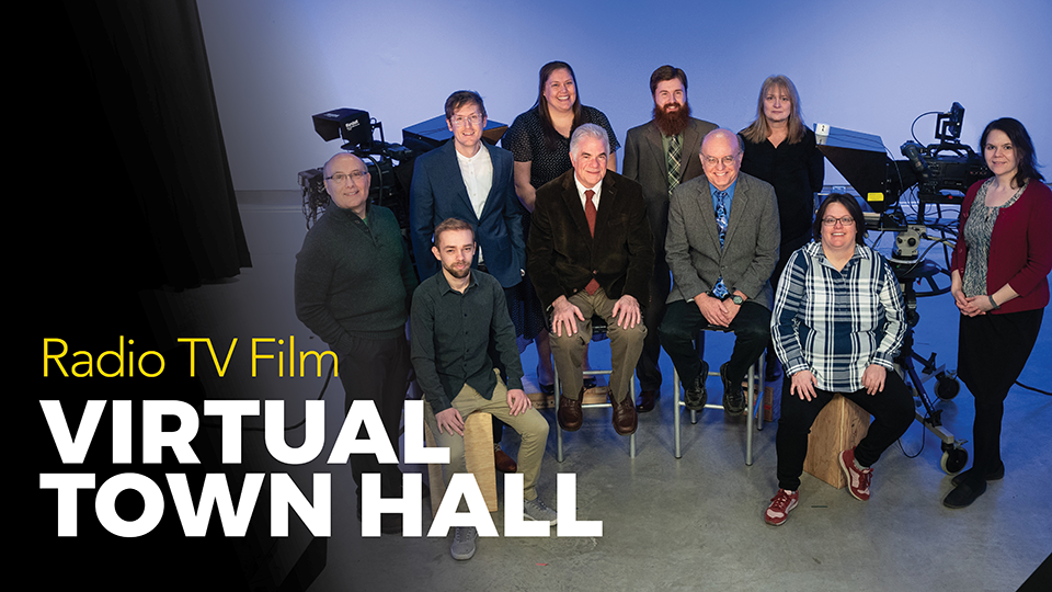 Radio TV film to host town hall for alumni April 29