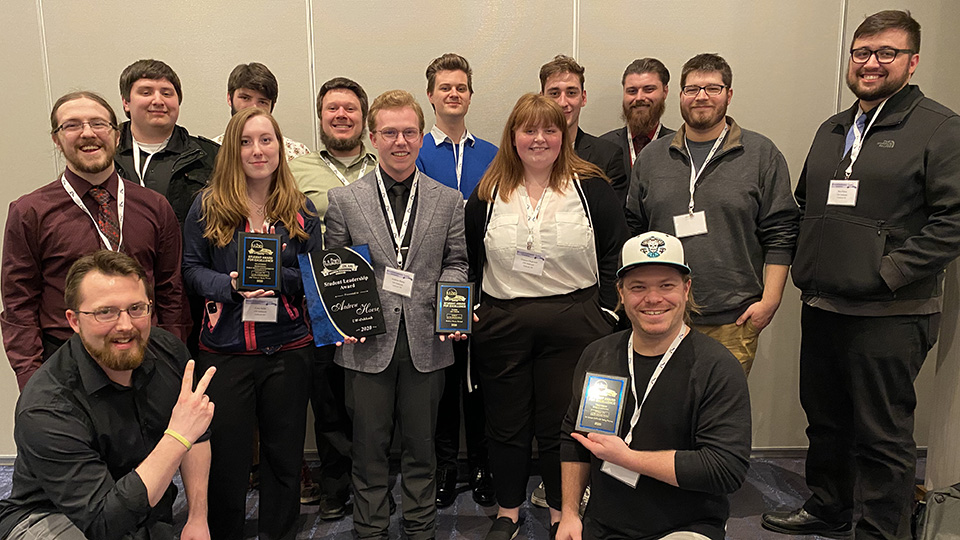 UW Oshkosh radio TV film students earn pile of national and regional awards