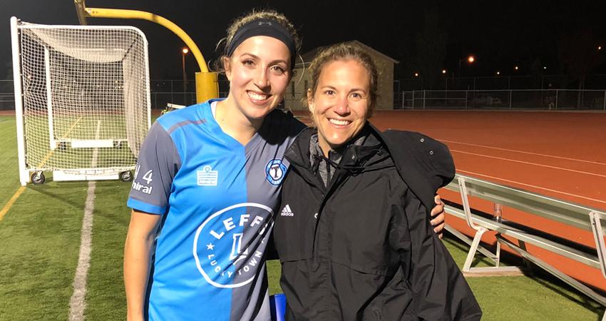 Former Titan Robyn Elliott chases her goals, makes history