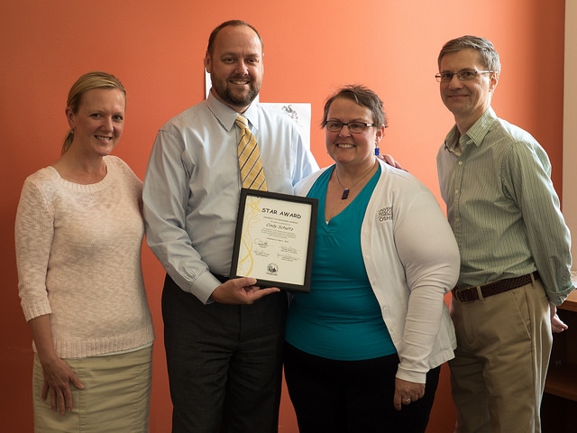 Journalism academic department associate earns July STAR