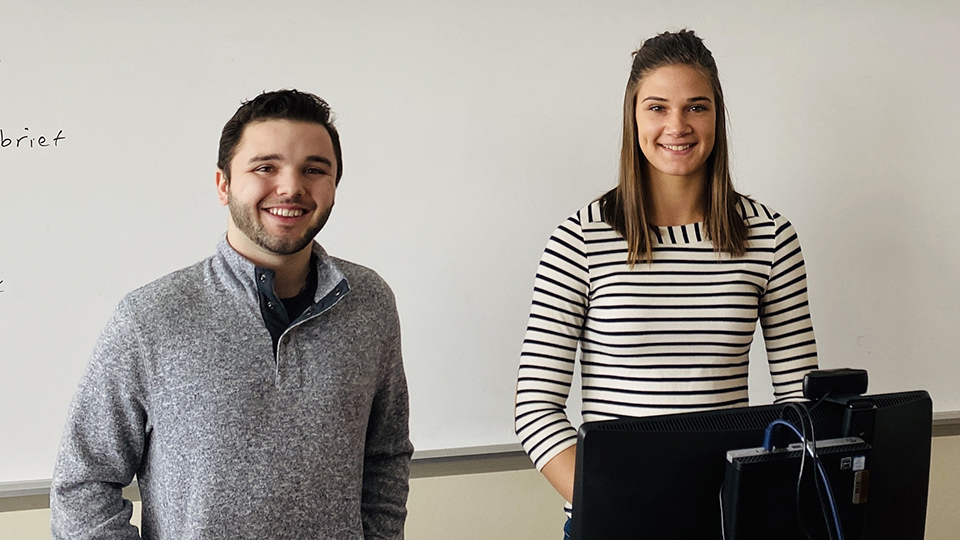 'A Titan got this job': Online connection with marketing expert lands UWO senior a summer internship
