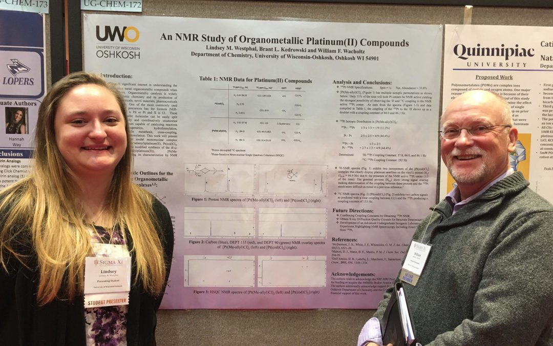 Graduating senior earned best chemistry poster at Sigma Xi conference