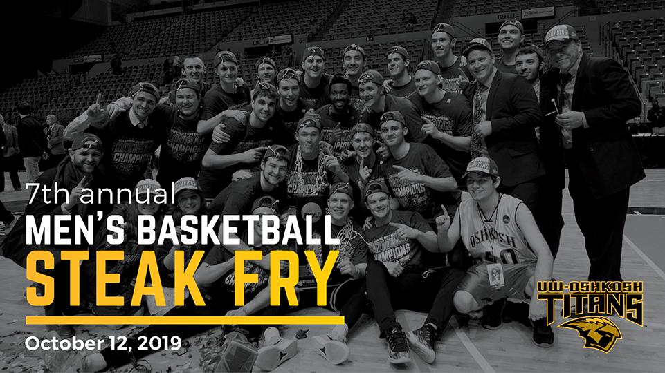 UWO men's basketball program hosts annual Steak Fry Oct. 12