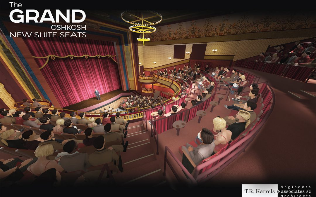Suite Seats: UWO research finds demand for premium seating at The Grand Opera House