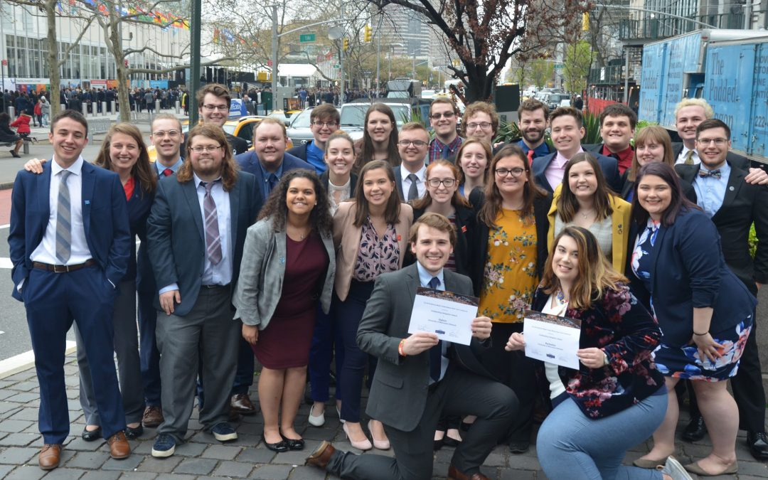 Model UN Titans are champions again