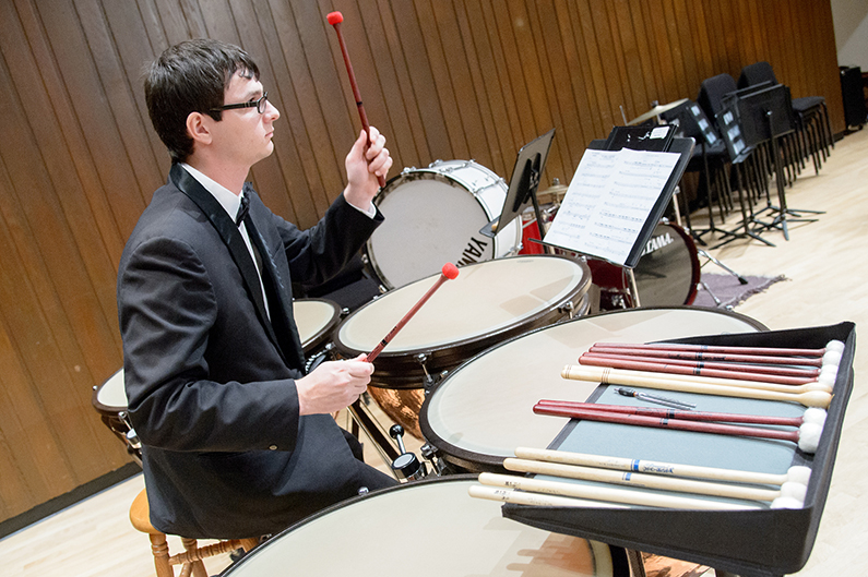 UWO music department hosts inaugural timpani summit for students, professionals