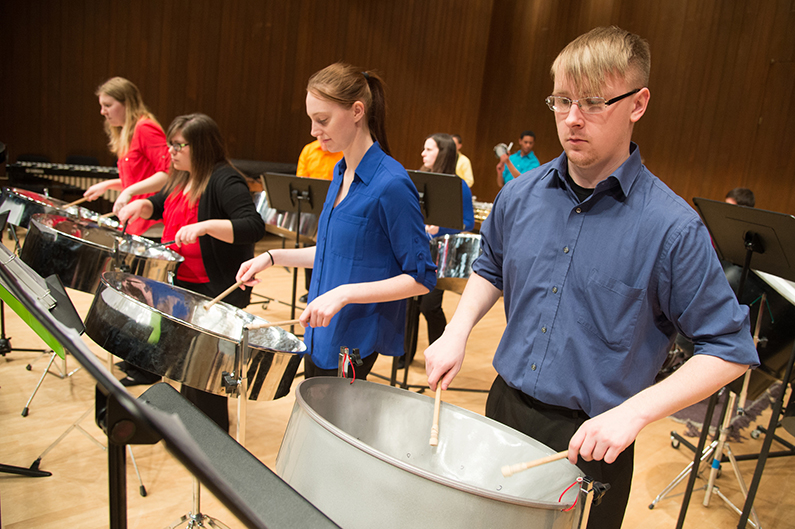 UWO music department heats up summer with youth steelband academy