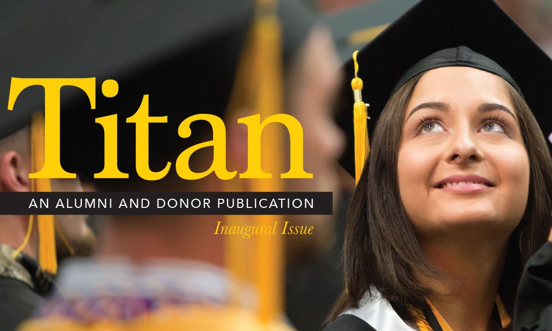 UW Oshkosh launches Titan mag for alumni/donors