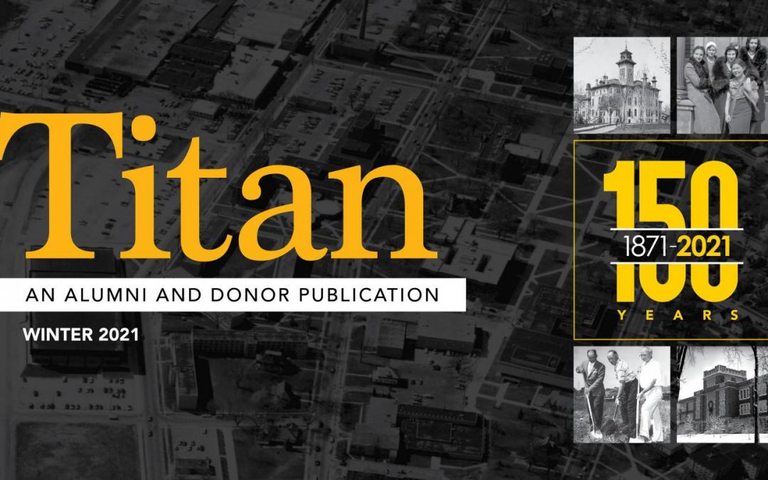 UWO archivist shares 150 years of UW Oshkosh history in new issue of Titan magazine