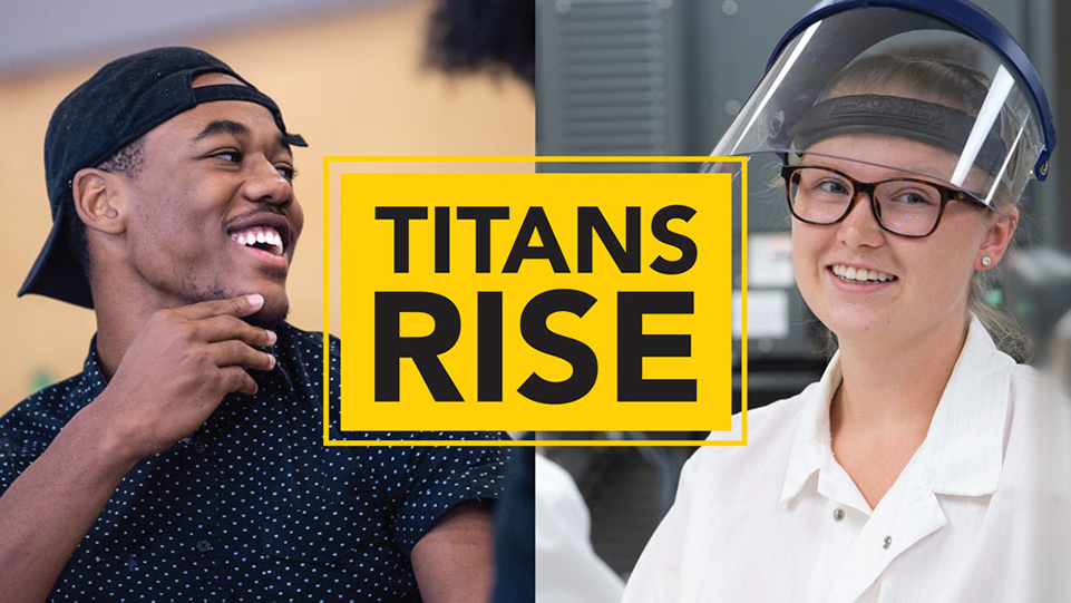 Students can now submit for Titans Rise Emergency Grant money