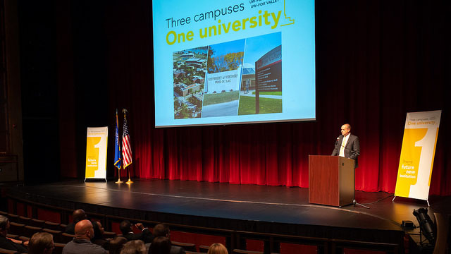 Access campuses of UW Oshkosh kick off academic year