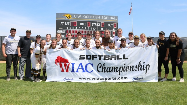UWO softball's NCAA postseason journey begins in Eau Claire