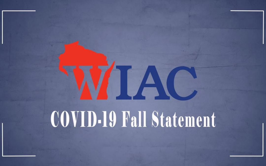 WIAC cancels fall sports due to COVID-19