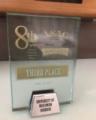 ad award plaque