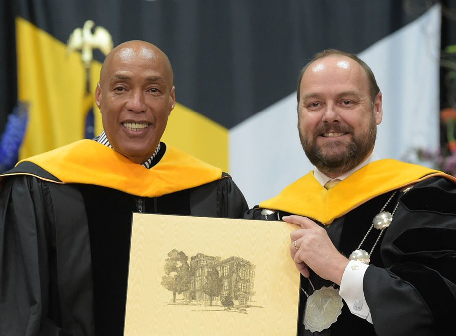 Automotive sales entrepreneur receives honorary doctorate