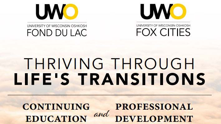 UWO Fond du Lac and Fox Cities Continuing Education programs focus on virtual experiences