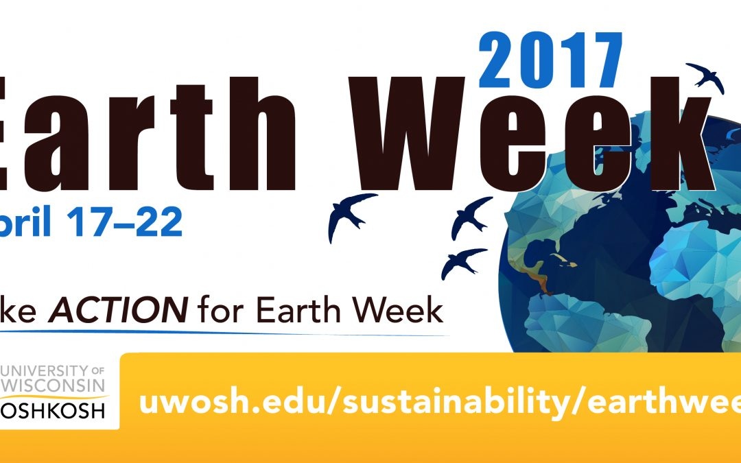 UW Oshkosh Earth Week activities focus on sustainability, care for environment