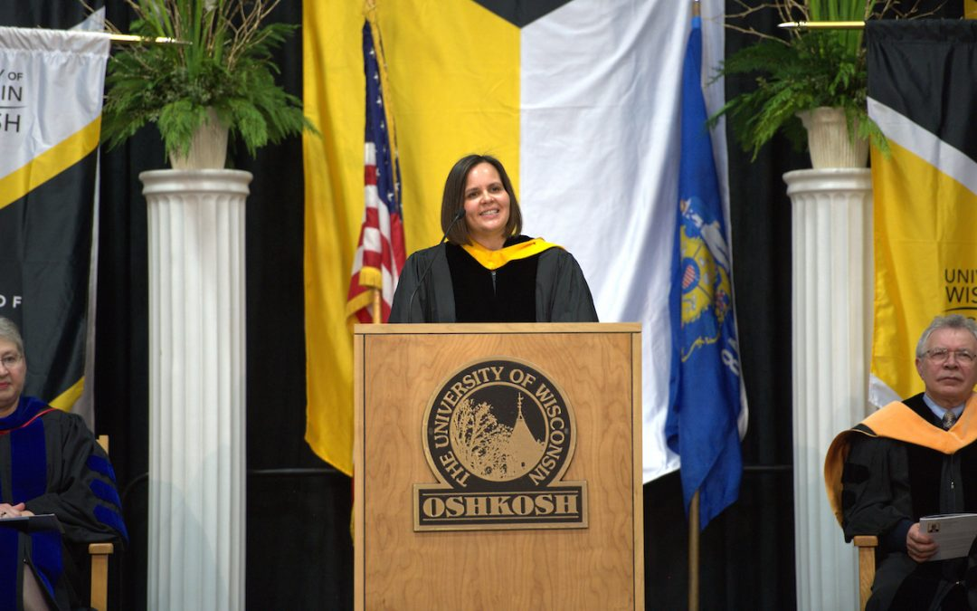 Faculty commencement speaker: 'I ask you to listen'