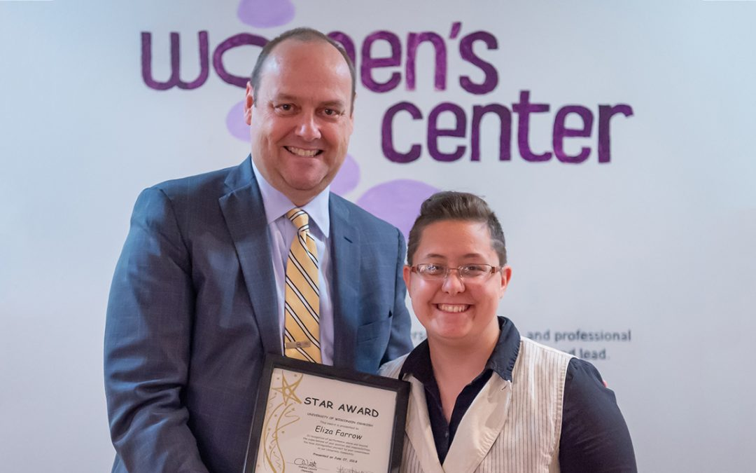 Women's Center associate earns July STAR Award