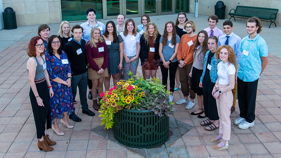 UWO Fond du Lac student scholarship winners, donors honored in recognition reception