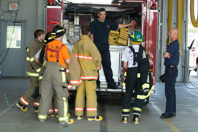 UW Oshkosh responds to need for educated fire science professionals