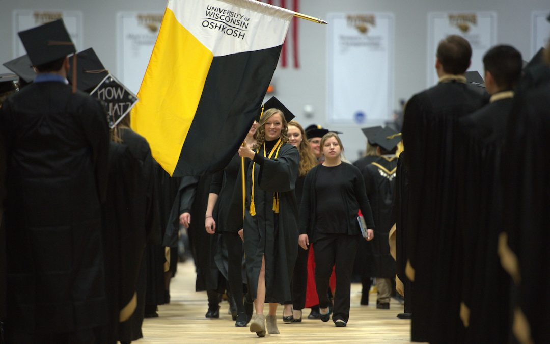 More than 1,200 earn degrees at UW Oshkosh midyear commencement