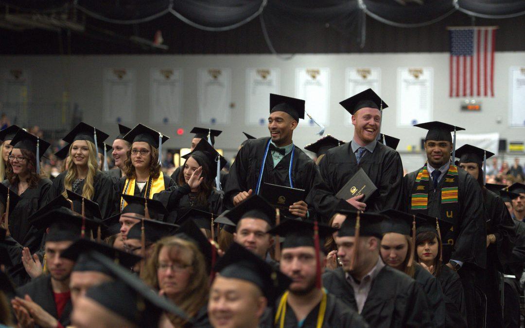 UW Oshkosh graduates have their commencement day