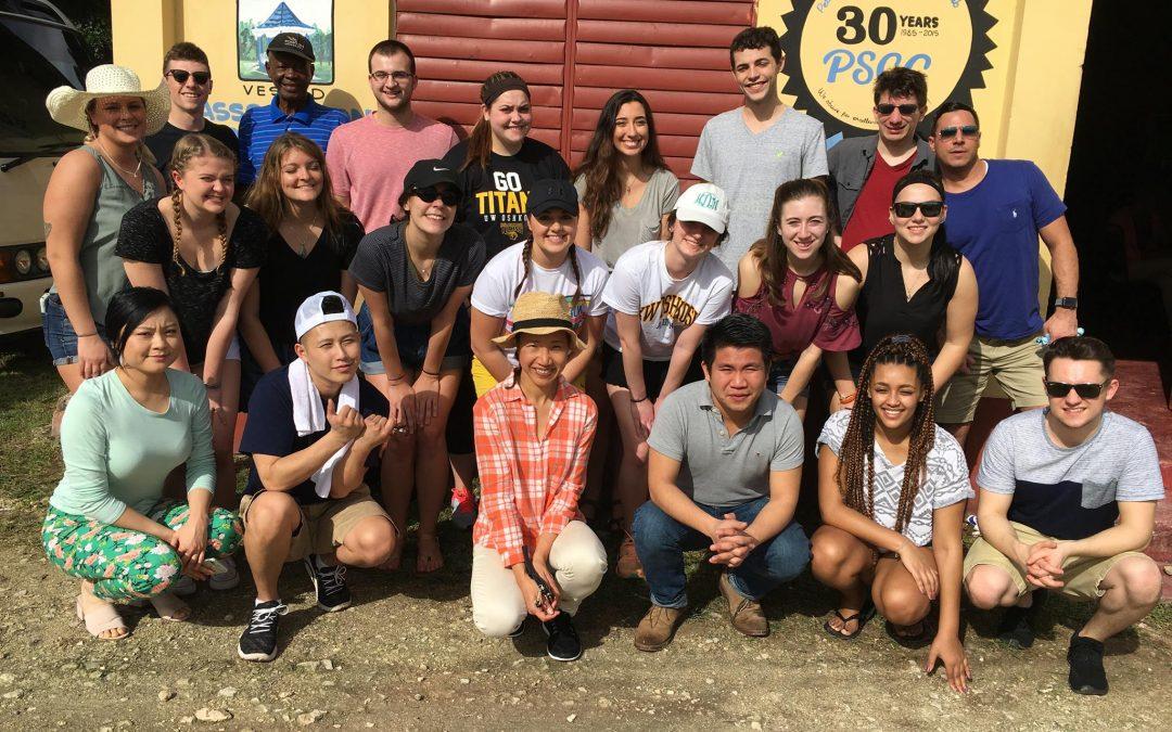 UWO students learn economics of developing countries through interim humanitarian trip