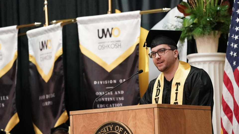 Student commencement speech: Diploma symbolizes 'personal victory' over depression