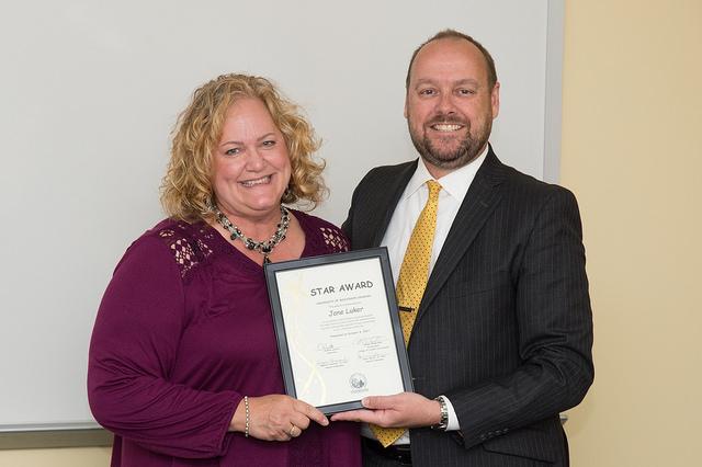 COLS dean's assistant earns November STAR Award