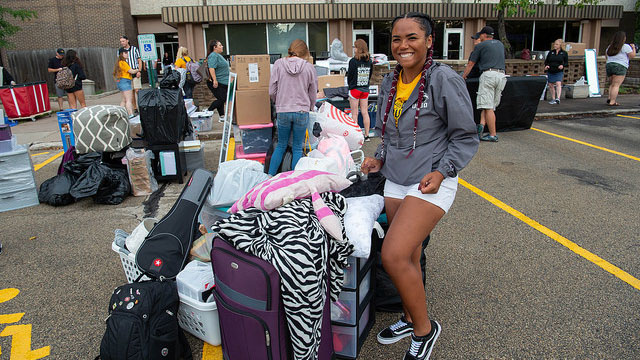 Move-In 2018 brings students, families to campus