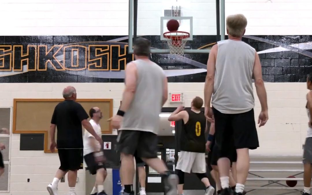 In video: Noon ball at UWO offers friendly competition