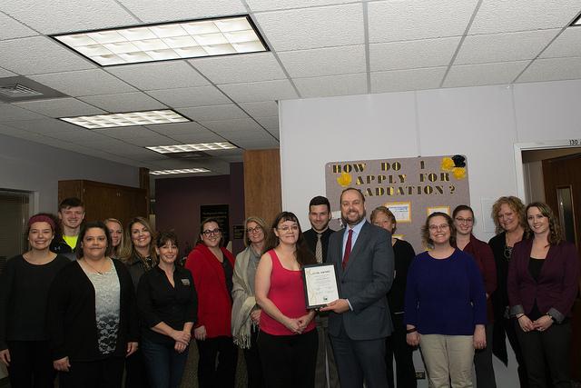 Registrar's Office room scheduler earns March STAR Award