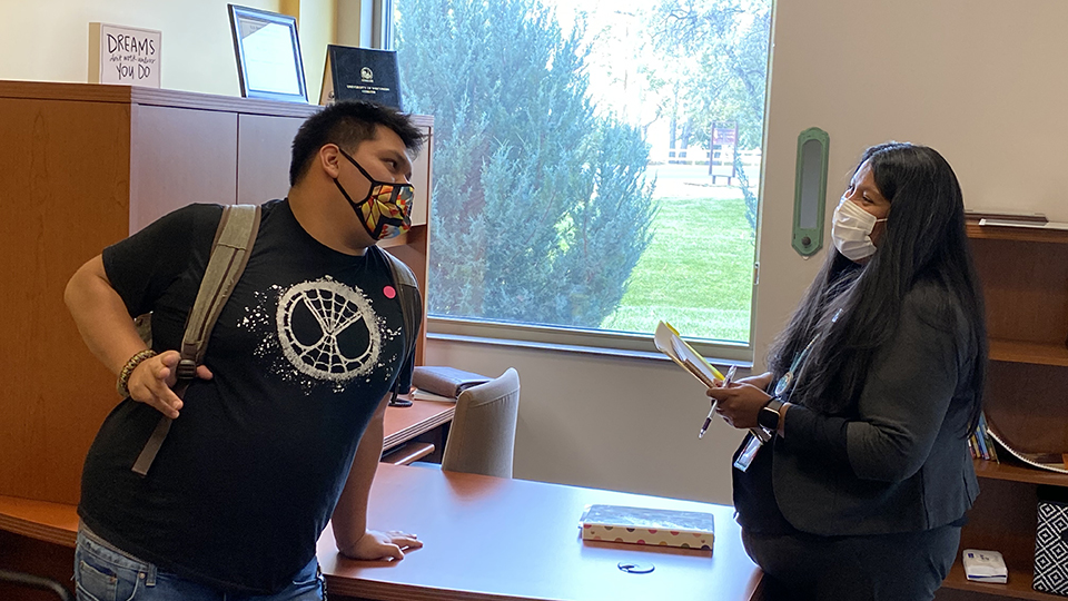 'Dream come true': UWO grad now guiding next generation of native students