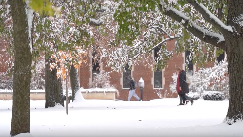 A brisk look into winter at UW Oshkosh