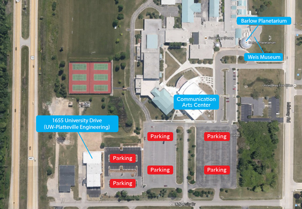 Fox Campus Map University Of Wisconsin Oshkosh University Of
